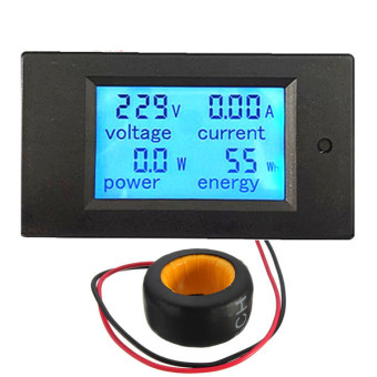 100A AC Digital LED Power Panel Meter Monitor Power Energy Voltmeter Ammeter