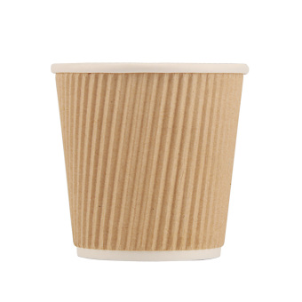 100ml100 disposable double layer concentrated coffee cup corrugated cup