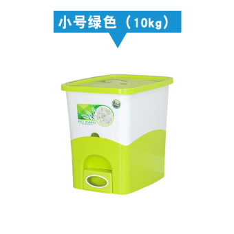 10kg15kg 20kg plastic sealed moisture rice storage box rice box