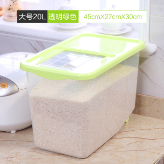 10kg30/15kg plastic pest control moisture kitchen surface barrel rice Bucket