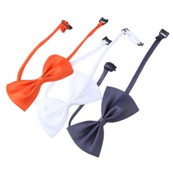 10PCS New Lovely Cute Bow Tie For Dog Cat Pet Necktie Neck Collar