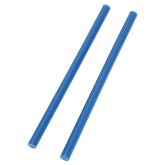 10Pcs/set 7 * 150mm Colorful Hot Melt Glue Adhesive Sticks for 20WSmall Power Gun Blue - intl Price Philippines