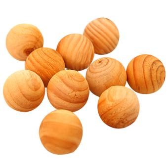 10x Cedar Wood Cedarwood Chips Bug Repellent Moth Balls ProtectionCamphor New - intl - 2