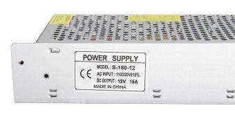 110/220V to DC12V 15A 180W Switch Power Supply Driver,PowerTransformer for CCTV camera/ Security System/ LED Strip Light(12V15A) - intl - 2