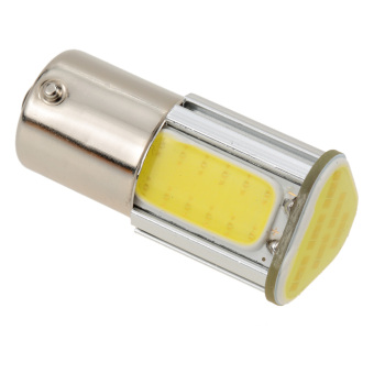 1156 G18 12V 3.6W 500LM 350MA COB LED Car Auto Light Source TurnSignal Rear Bulb Lamp White - 2