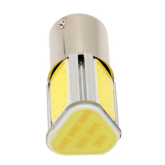 1156 G18 12V 3.6W 500LM 350MA COB LED Car Auto Light Source TurnSignal Rear Bulb Lamp White - 5