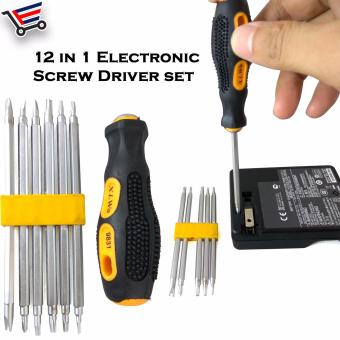 12 in 1 Elecronic Magnetic Mobile Phone/Laptop/Notebook/ComputerRepair Tool Set Screwdriver Set