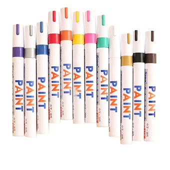 12 Pcs Hand Painted Drawing Sketch Marker Pen