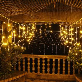 120 LED Fairy String Solar LED Bulb Light For Wedding Party XmasGarden Decor YE - intl