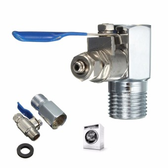 1/2'' to 1/4'' RO Feed Water Adapter Ball Valve Faucet Tap Feed Reverse Osmosis - intl