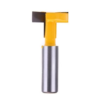 1/2*5/16 Shank Straight T-track T-Slot Router Bit WoodworkingChisel Cutter - intl