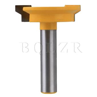 1/2Inch Tenon Woodwork Cutter Front Joint Router Bit Silver &Yellow