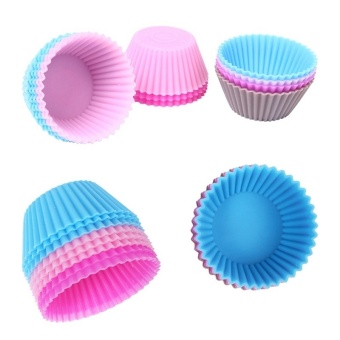 12pcs Mini Silicone Cup Cake Pan Mold Muffin Cupcake Price Philippines