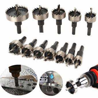 12pcs/set 15-50mm HSS Hole Saw Cutter Drill Bits Tool Kit - intl