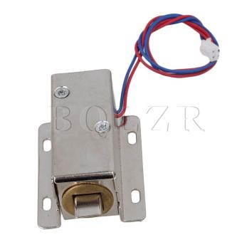 12V Electric Lock Assembly Solenoid (Silver)