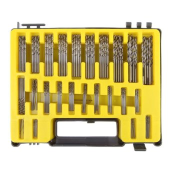 150Pcs Mini Twist Drill Bit Kit HSS Micro Precision