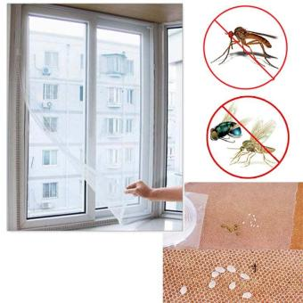 150x130cm Insect Fly Mosquito Bug Window Mesh Screen White - intl