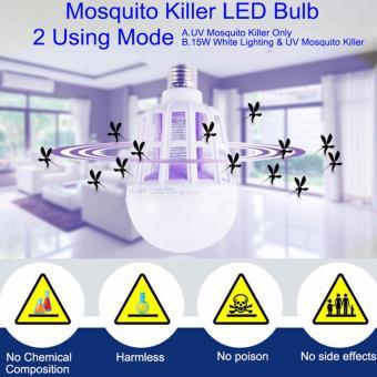 15W Mosquito Killer UV LED Bulb - 2