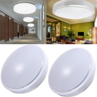 15W PIR Motion Sensor 30 LED Ceiling Light Body Automatic Light Switch AC 220V
