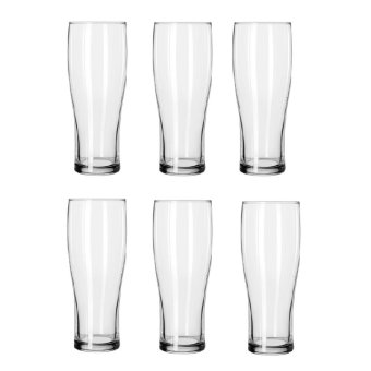 16oz Glass Tumbler MH-01 Set of 6 (Clear)