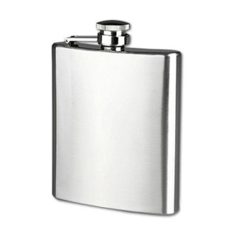 18 oz Stainless Steel Pocket Hip Flask Alcohol Whiskey Liquor ScrewCap H - intl Price Philippines