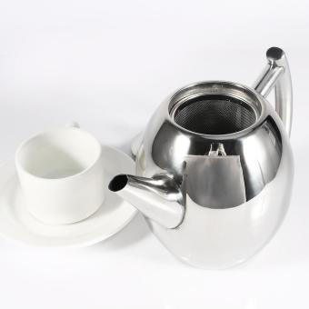 1L Stainless Steel Teapot Coffee Pot Water Kettle With Filter - intl - 5