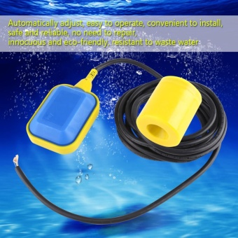 1pc Cable Type Float Switch Liquid Fluid Water Level ControllerSensor (1.9M Cable) - intl