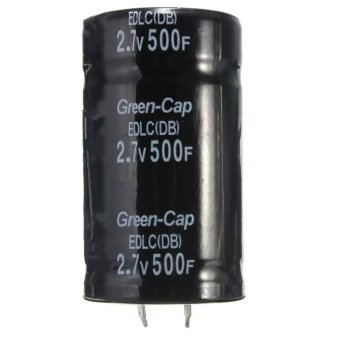 1PC Farad Capacitor 2.7V 500F 35*60MM Super Capacitor 2.7V500F - intl