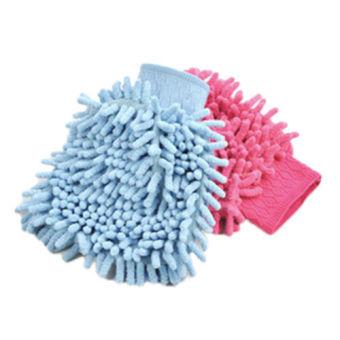 1Pc Super Mitt Microfiber Fiber Car Glove Cleaning Cloth Towel WashDry Tool - intl - 4