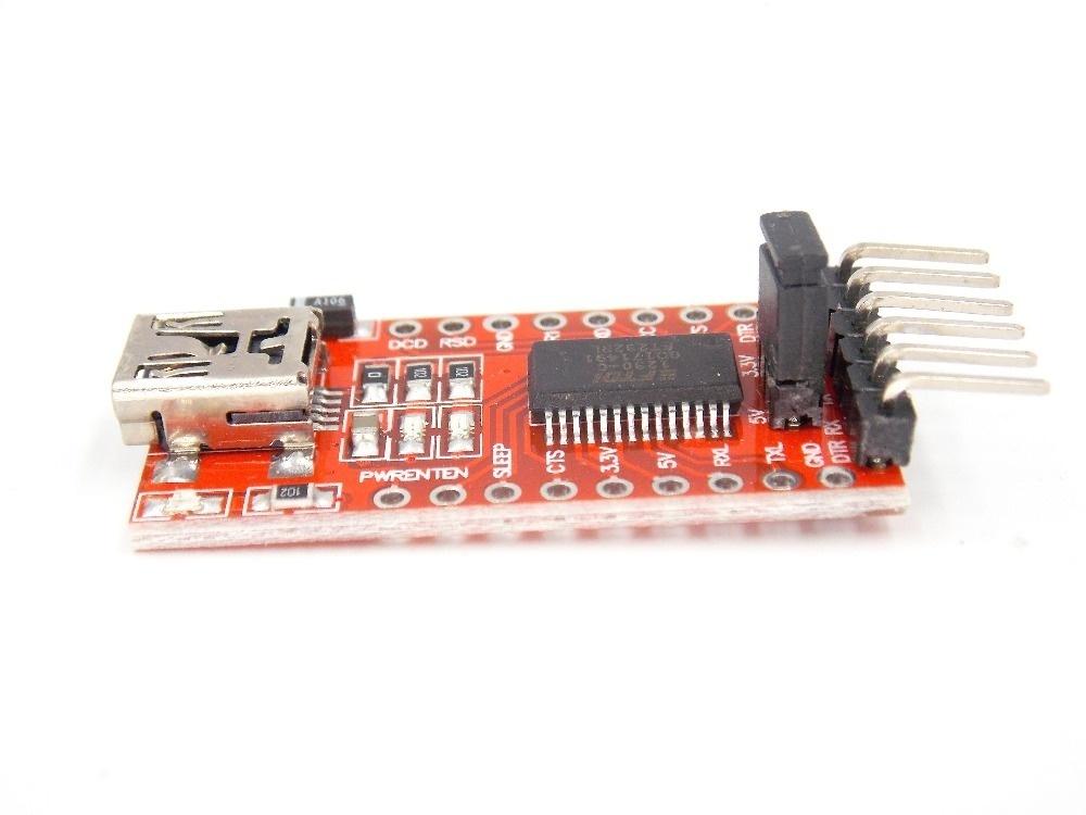 1pcs FT232RL FTDI USB 3.3V 5.5V to TTL Serial Adapter Module .