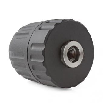 1pcs Keyless Drill Chuck Air/Electric/Cordless 1/32 - 3/8 in 24 UNF0.8 - 10 mm Quick - intl - 3