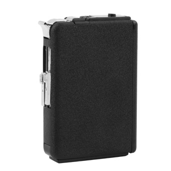 2 in 1 Cigarette Case Box Holder Windproof Flame Fire Gas Refillable Lighter - 4
