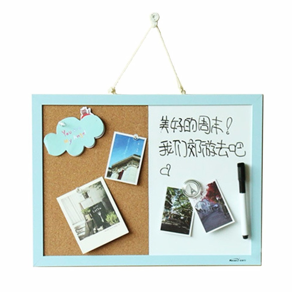 Philippines | 2 in 1 Cork Board Memo Board Whiteboard Photo Message ...