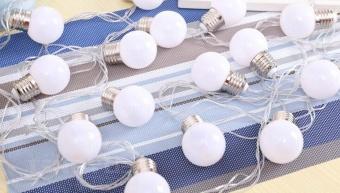 20 LED 16ft/5m Globe String Lights Warm White Ball Light for GardenParty Christmas Wedding New Year - intl - 5