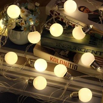 20 LED 16ft/5m Globe String Lights Warm White Ball Light for GardenParty Christmas Wedding New Year - intl - 2