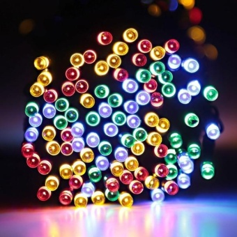 200 LED Outdoor Solar Powered String Light Christmas Party Lamp 22MMR - intl