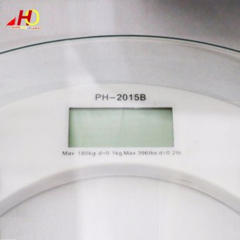 2003B High-Precision Personal Weighing Scales (Clear) - 2