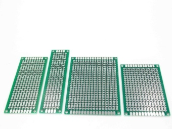 20pcs 5x7 4x6 3x7 2x8 cm double Side Copper prototype pcb UniversalBoard - intl - 5