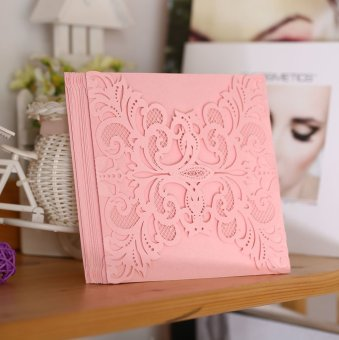 20Pcs Romantic Wedding Party Invitation Card Delicate Carved Pattern - Intl