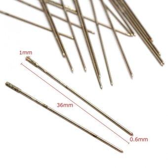 20pcs/set 0.6mm Shank Diamond Hole Saw Cutter Drill Bits - intl - 2
