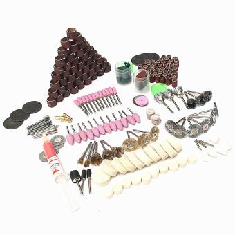 217Pcs Electric Grinding Mill Grinding Sanding Polishing for Dremel Rotary Tool - 2