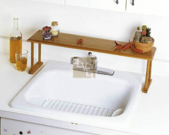 21cm sink basin storage rack kitchen shelf