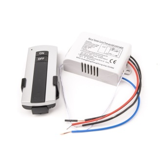 220V 1 Way ON/OFF Wireless Digital Remote Control Switch for Lamp& Light YB004-SZ+