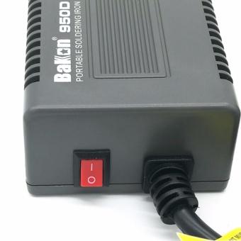 220V 75W T12 Digital Adjustable Temperature Soldering Iron StationWelding Tool BK950D + T12 solder tip FOR HAKKO FX-951 - intl - 5