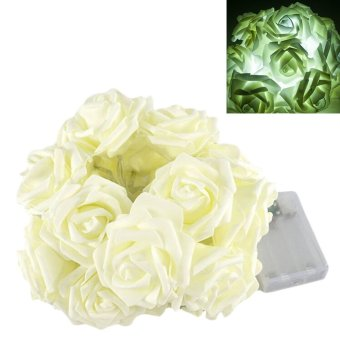 2.2m 20LED Rose Flower Fairy String Lights Wedding Garden Party Christmas Decoration- Intl - picture 4