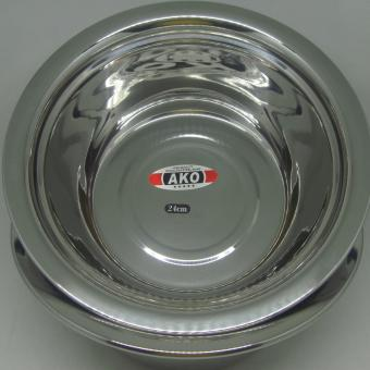 24 Cm Stainless Steel Mixing Bowl Set of 2