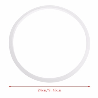 24cm Pressure Cookers Silicone Rubber Gasket Sealing Seal RingKitchen Cooking Tool - intl