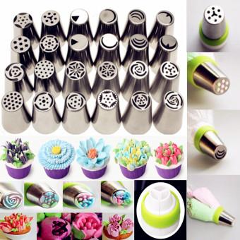 24PCS Russian Icing Piping Nozzles Tips Cake Decorating Sugarcraft Pastry Tool - 2