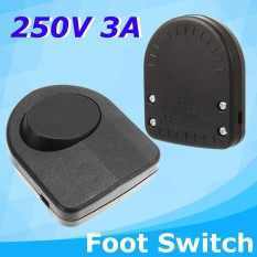 250V 3A Black Momentary On/Off Electric Foot Pedal Switch Control Controller - intl Philippines