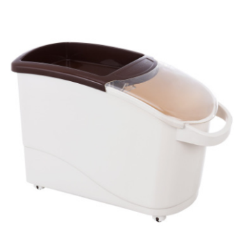 25kg with handle moisture with a round rice Bucket rice storage box